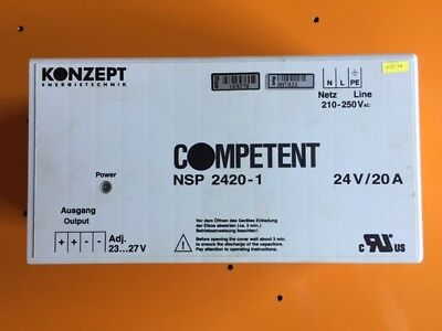 Concept Competent NSP 2420-1 Power supply Primary switch 24V / 20A