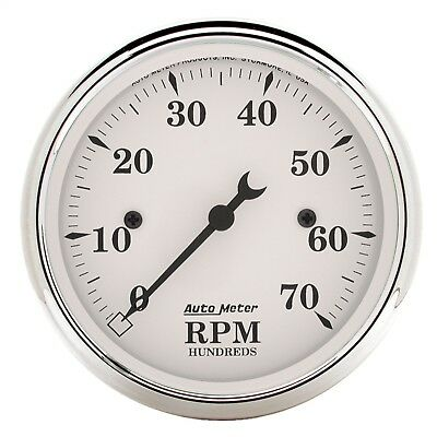 AutoMeter 1695 Old Tyme White Electric Tachometer