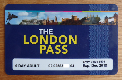 The London Pass - 6 Day Adult Ticket, RRP £139!
