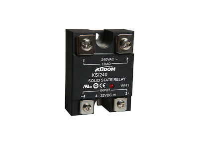 Kudom 100A 4-32Vdc Zero X & Led Panel/surface Mount Solid State Relay