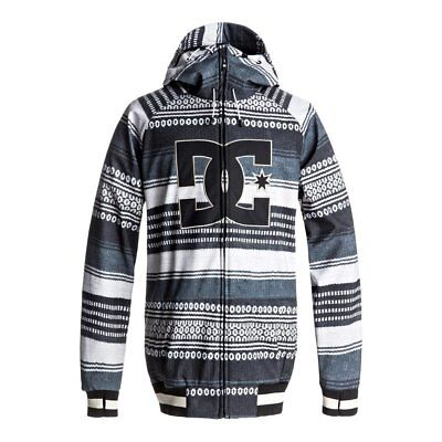 Dc Shoes Spectrum Jacket Poncho Stripe Gs Giacca Softshell Snowboard Fw 2018 New