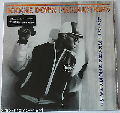 BOOGIE DOWN PRODUCTIONS By All Means Necessary LP 2015 Music on Vinyl  NEW!