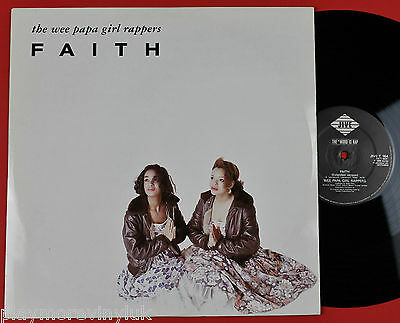 "WEE PAPA GIRL RAPPERS Faith (ext) 12"" UK 1988 Jive T164  plays NM!"