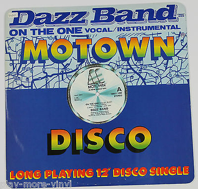 """DAZZ BAND On The One 12"""" vinyl UK 1983 Motown plays NM!"""