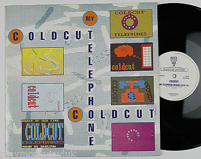 "COLDCUT My Telephone 12"" UK 1989 Ahead Of Our Time CCUT6T  Steinski"