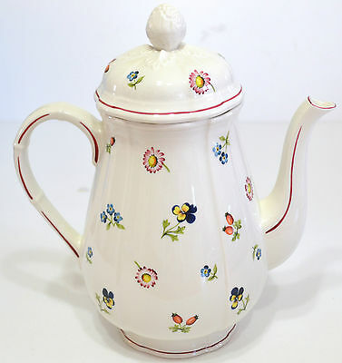 Villeroy And Boch - Coffee Pot 42 Oz. - Petite Fleur  Pattern