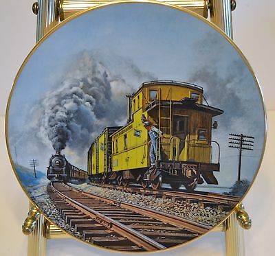 TED XARAS BRIEF ENCOUNTER COLLECTIBLE PLATE - Second in the Age of Steam Series