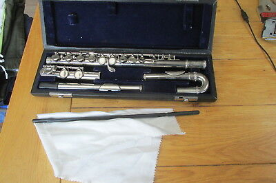 "Plated Flute ""Phoenix"" By Academy - Curved and Straight Head Joint (Ref 137)"