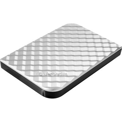 NEW Verbatim 99373 1TB Store n Go Portable Hard Drive, USB 3.0 Diamond Silver 1