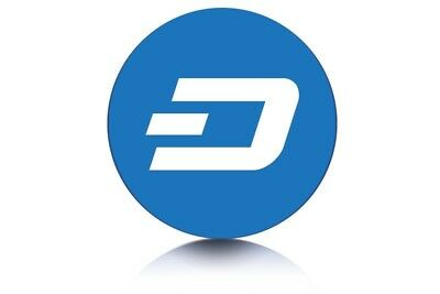 1 Dash Coin (DASH) Virtual Currency Fast to your Wallet Trusted USA Seller