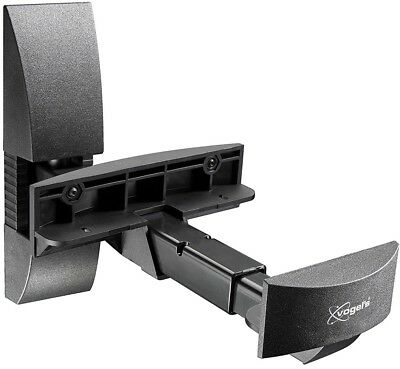 Vogels VLB 200 2x20Kg Bookshelf Wall Mount For Loudspeaker - Silver/Black