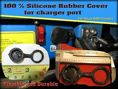 Rubber Power Port Cover for Razor Scooter