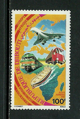 Djibouti C143 Mint Never Hinged Stamp - Transportation
