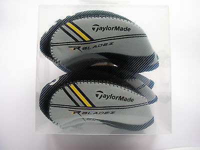 Taylormade RocketBladez Iron Covers Black/Grey  Rocket Bladez