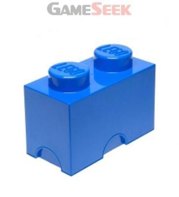 Lego Storage Brick 2 Blue - Toys Brand New Free Delivery