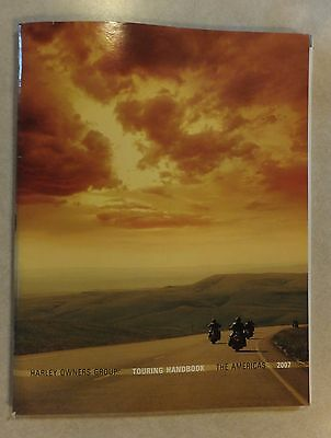 2007 Harley Davidson Owners Group Touring Handbook The Americans Atlas & Dealers