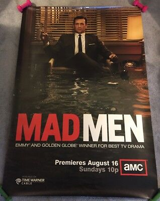 MAD MEN Poster - Season 3 - 4x6 ft Bus Shelter Poster