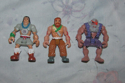 Fisher Price Imaginext Caveman Set - 3 Figures - Cave Men - No Accessories