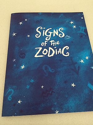 Stamp Sheet SIGNS OF THE ZODIAC Mint new stamps in folder