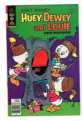 Walt Disney Huey, Dewey and Louie Junior Woodchucks #53 (Dec 1978, Western)