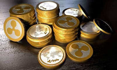 100 Ripple (XRP) Virtual Currency Fast to your Wallet Trusted USA Seller