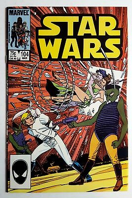 STAR WARS #104 (Marvel 1986) NM/NM+ Rare Late Series Issue
