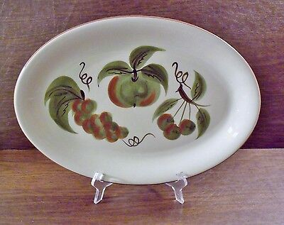 "Stangl ORCHARD SONG 15"" Oval Platter EXCELLENT"