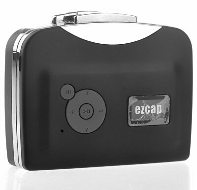 BW Digital USB Cassette Audio Music Player And Tape-to-MP3 Converter