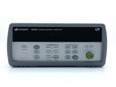 Keysight Used 34972A LXI Data Acquisition Switch Unit, LAN/USB (Agilent)