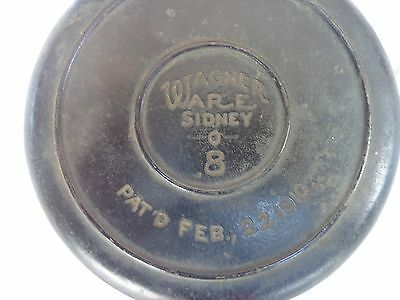 wagner ware no.8 antique