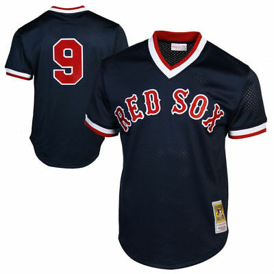 BNWT Williams Boston Red Sox 1990 Practice Cool Base Player Baseball MLB Jersey