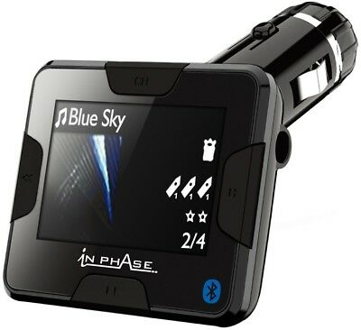 In Phase BTGO Bluetooth Handsfree Universal Car System and FM Transmitter