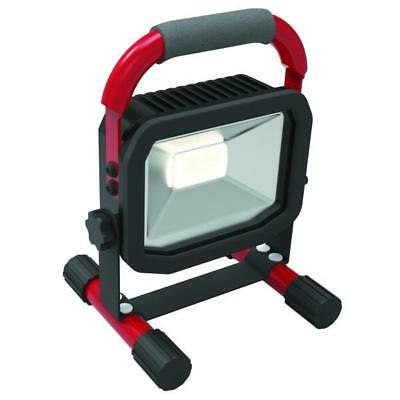 Faro da cantiere ricaricabile, IN/OUT USB, a LED, 10 W, IP65, Luceco LSWR10BR-02