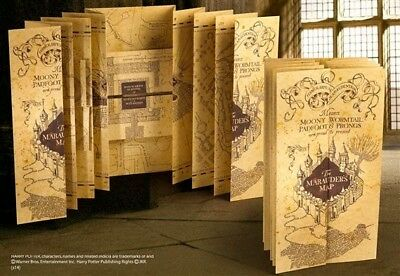 Harry Potter Marauder's Map Replica By Noble Collection