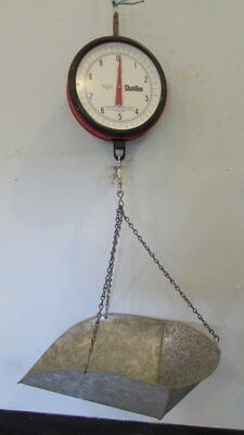 Chatillon Hanging Scale-20-lb/0.5 oz Model 027/A Legal for Trade-Produce.