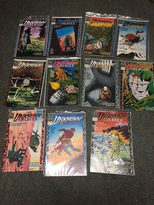 The Unknown Soldier #1-12 (-10) Run SET VF/NM 12 Issue War Comic Books lot 1989