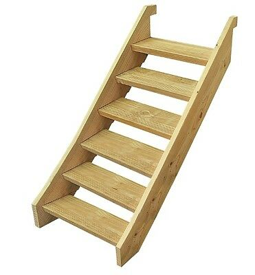 Ezistep Timber 6 Step Stair Kit  Vertical Height of 1120MM Size 10g x 63.5mm NEW