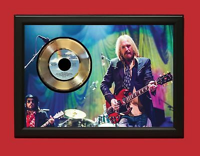 Tom Petty And The Heartbreakers Don't Come - Custom Framed 24k Gold LP Display