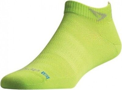 (Medium: W 7.5-9.5/ M 6-8, Sublime) - Drymax Run Lite-Mesh Mini Crew Socks