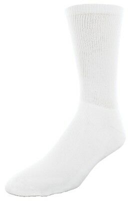 (One Size, White) - Sof Sole All Sport Crew Athletic Performance Socks for