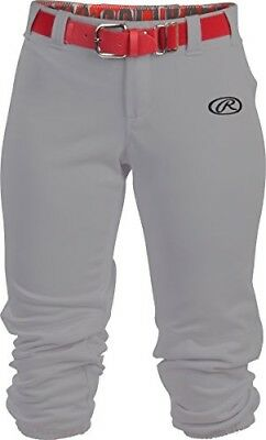 (Small, Grey) - Rawlings Sporting Goods Girls Launch Pant. Best Price