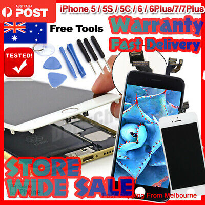 For iPhone 6Plus 6 LCD 7 7Plus 5s 5c Touch Screen Replacement Digitizer Assembly