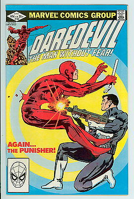 Daredevil #183 Marvel 1982 NM- Classic Punisher Cover