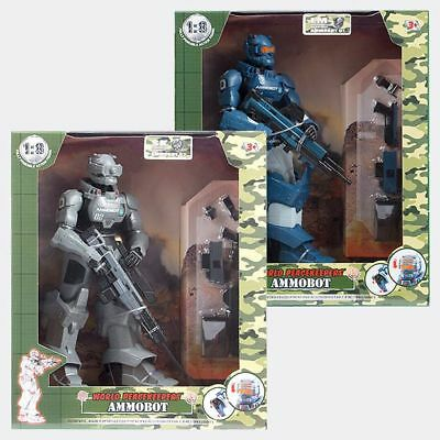 NEW 1:18 World Peacekeepers - Ammobot 81350 Assorted
