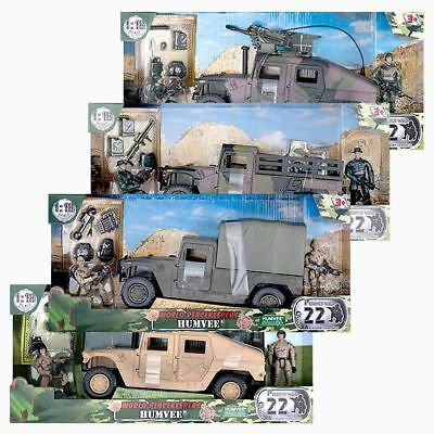 NEW 1:18 World Peacekeepers - Humvee 77023 Assorted