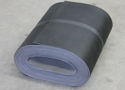 Conveyor mat rubber belt 450mm wide by 17.5m