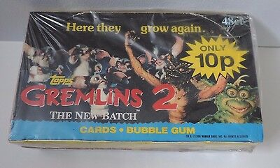 Topps Ireland Gremlins 2 The New Batch Factory Sealed Unopened Box