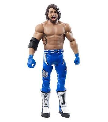 WWE Mattel Basics 76 AJ Styles Wrestling Figure * NO BOX *