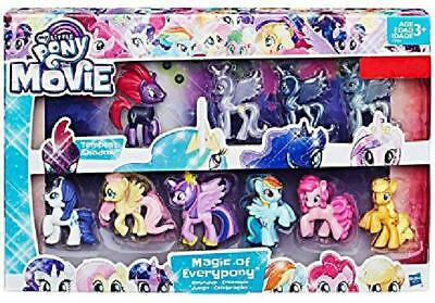 My Little Pony The Movie Magic Of Everypony Roundup Exclusive 10 Figures New