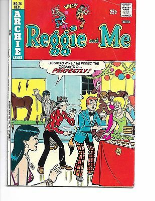 Reggie and Me #75 (Dec 1974, Archie)